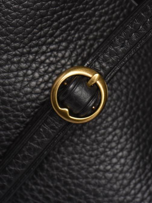 Sacs à main Polo Ralph Lauren SMALL LENNOX TOTE Noir vue gauche