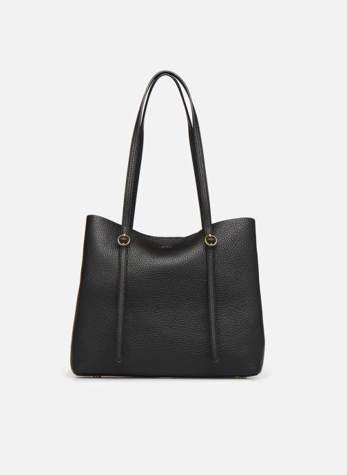 Sacs à main Polo Ralph Lauren SMALL LENNOX TOTE Noir vue détail/paire