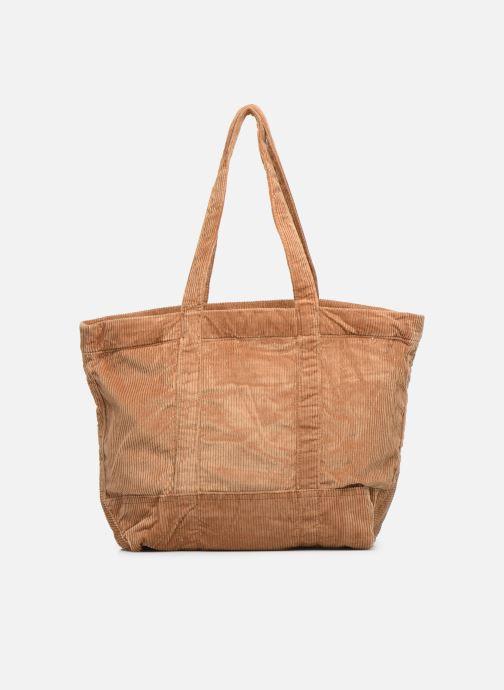 Handtaschen Polo Ralph Lauren PP TOTE CORDUROY beige ansicht von vorne