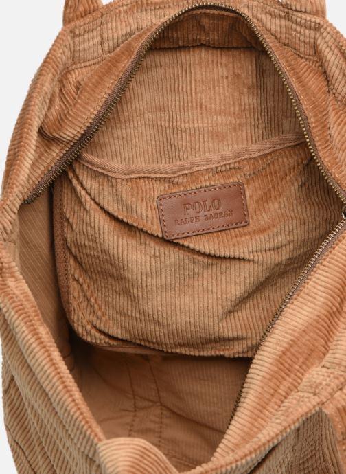 Handtaschen Polo Ralph Lauren PP TOTE CORDUROY beige ansicht von hinten