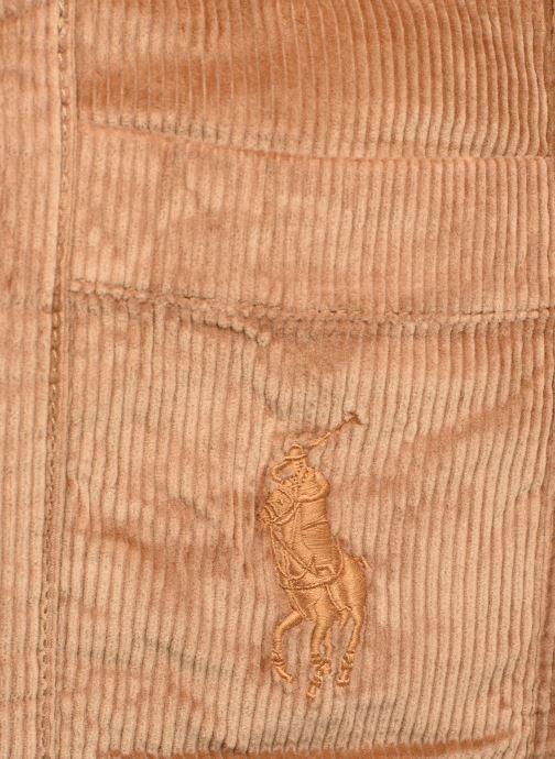 Handtaschen Polo Ralph Lauren PP TOTE CORDUROY beige ansicht von links