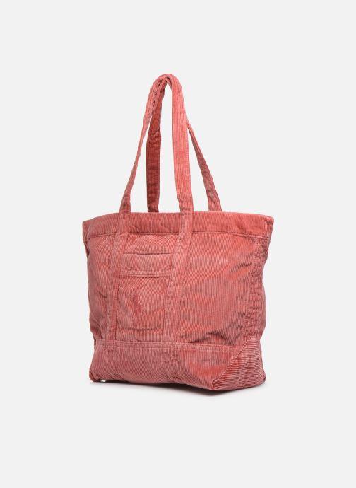 Handtassen Polo Ralph Lauren PP TOTE CORDUROY Roze model