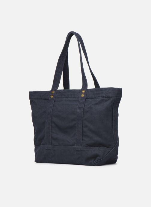 Handtassen Polo Ralph Lauren PP TOTE POLO Blauw rechts