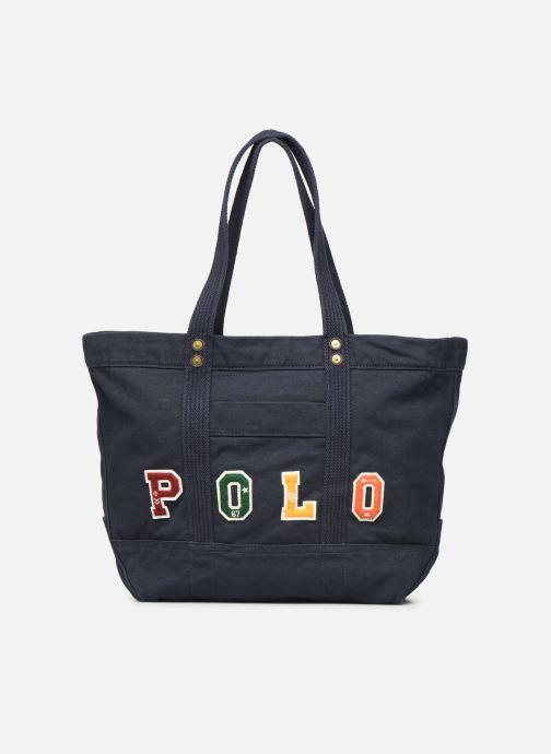 Handbags Polo Ralph Lauren PP TOTE POLO Blue detailed view/ Pair view