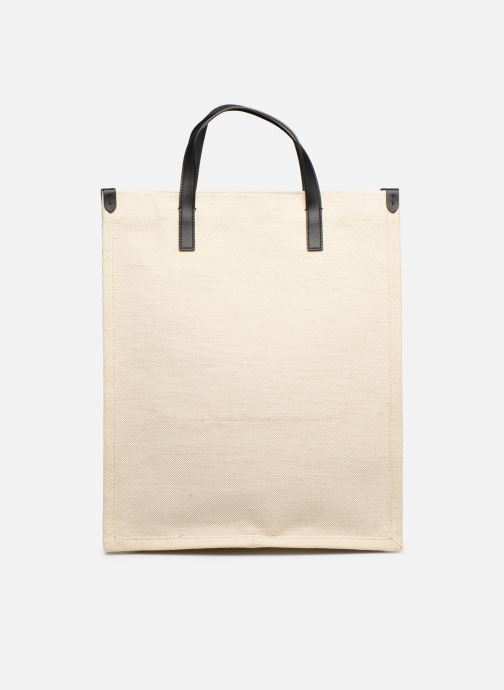 Sacs à main Polo Ralph Lauren SHOPPER TOTE Blanc vue face