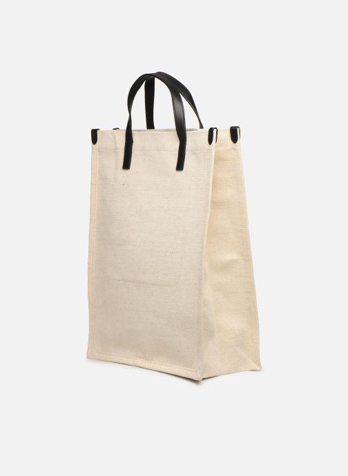 Handtaschen Polo Ralph Lauren SHOPPER TOTE weiß ansicht von rechts
