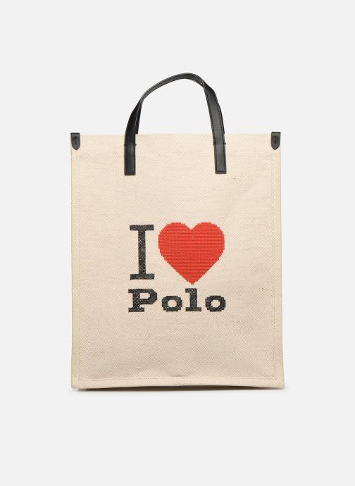 Bolsos de mano Polo Ralph Lauren SHOPPER TOTE Blanco vista de detalle / par