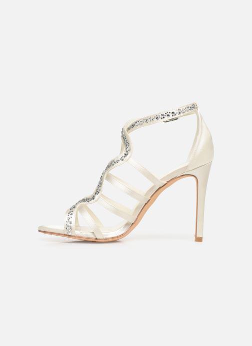 Sandales et nu-pieds Menbur 6763 Blanc vue face