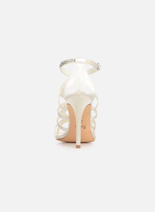 Sandales et nu-pieds Menbur 6763 Blanc vue droite