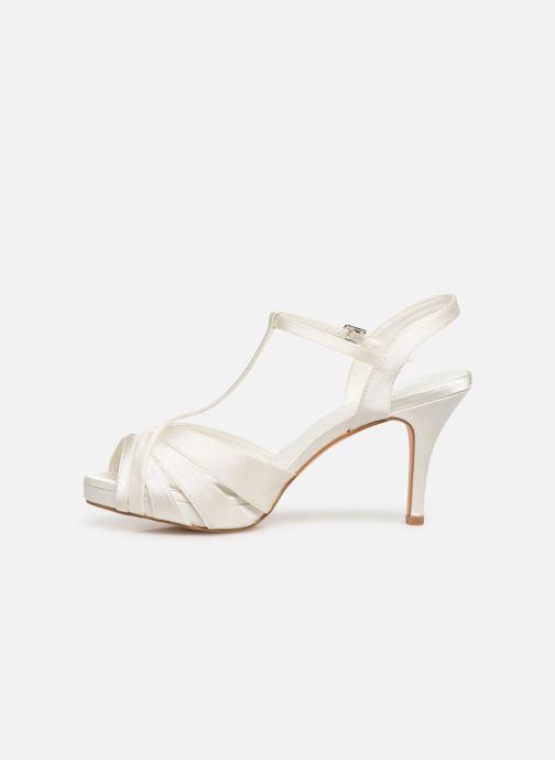 Sandales et nu-pieds Menbur 6263 Blanc vue face