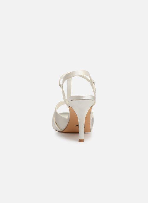 Sandaler Menbur 6263 Hvid Se fra højre