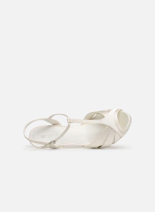 Sandales et nu-pieds Menbur 6263 Blanc vue gauche