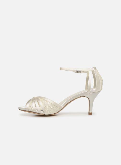 Sandales et nu-pieds Menbur 7261 Blanc vue face