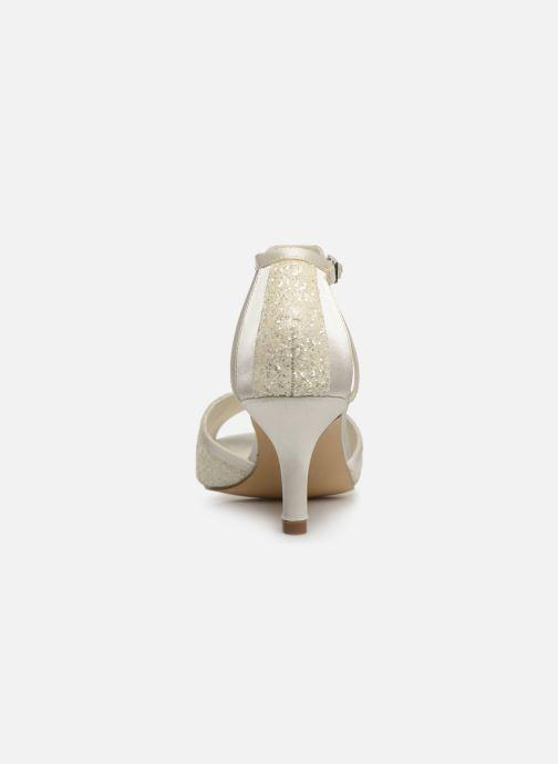 Sandales et nu-pieds Menbur 7261 Blanc vue droite