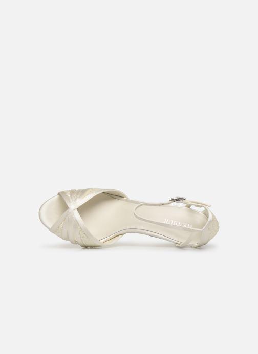 Sandales et nu-pieds Menbur 7261 Blanc vue gauche