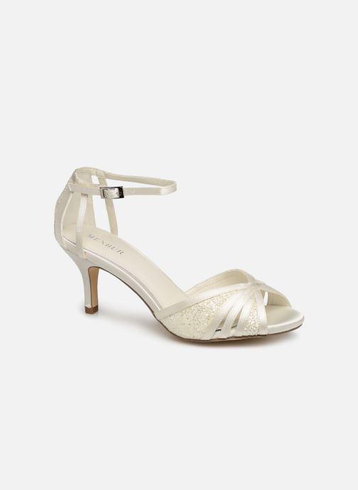 Sandales et nu-pieds Menbur 7261 Blanc vue détail/paire