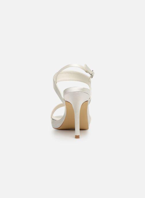 Sandales et nu-pieds Menbur 9528 Blanc vue droite