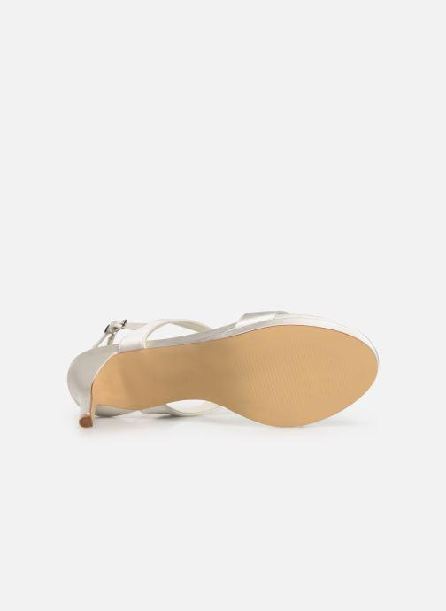 Sandales et nu-pieds Menbur 9528 Blanc vue haut
