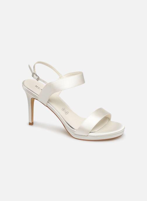 Sandales et nu-pieds Menbur 9528 Blanc vue détail/paire
