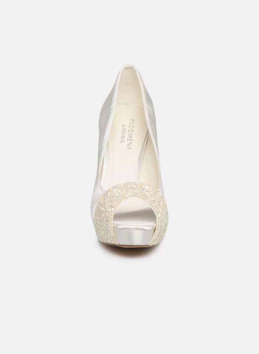 Escarpins Menbur 6205 Blanc vue portées chaussures