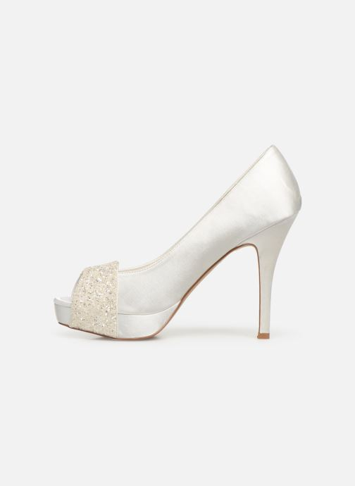 High heels Menbur 6205 White front view