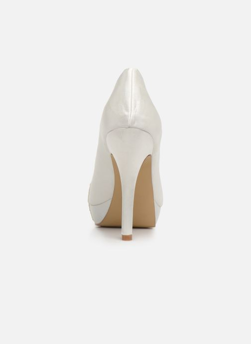High heels Menbur 6205 White view from the right