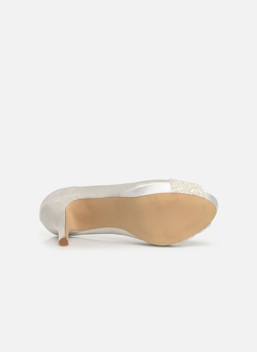 High heels Menbur 6205 White view from above