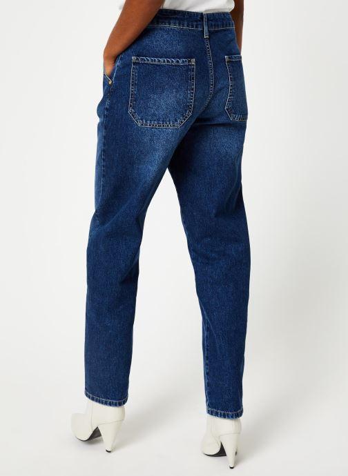 Vêtements Essentiel Antwerp THURSTY Bleu vue portées chaussures