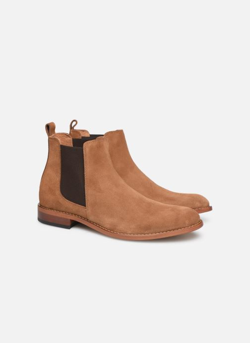 Bottines et boots Mr SARENZA DAMAN Marron vue derrière