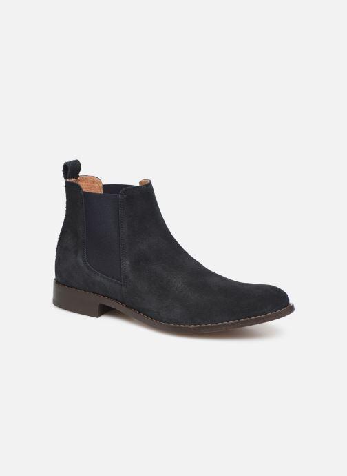 Bottines et boots Mr SARENZA DAMAN Bleu vue droite