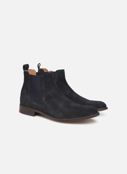 Bottines et boots Mr SARENZA DAMAN Bleu vue derrière