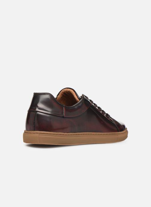 Sneaker Mr SARENZA DELCO weinrot ansicht von vorne
