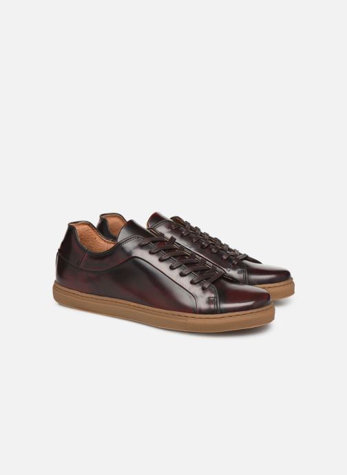 Sneakers Mr SARENZA DELCO Vinröd bild från baksidan