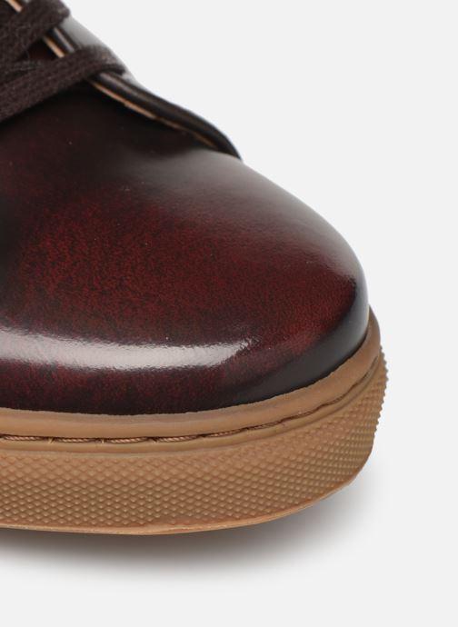 Sneakers Mr SARENZA DELCO Vinröd bild från vänster sidan