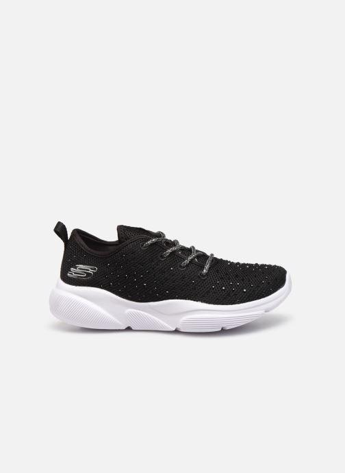 Sport shoes Skechers Meridian Intentful Black back view