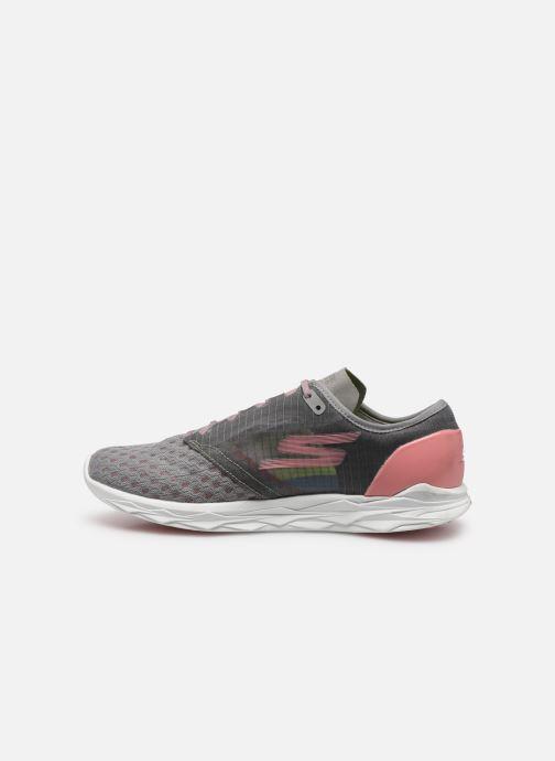 Chaussures de sport Skechers Go Meb Speed 5 Gris vue face