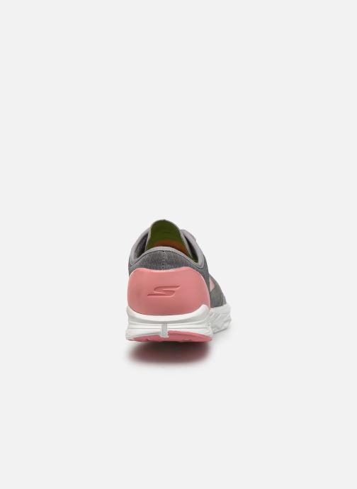Chaussures de sport Skechers Go Meb Speed 5 Gris vue droite