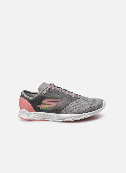 Chaussures de sport Skechers Go Meb Speed 5 Gris vue derrière