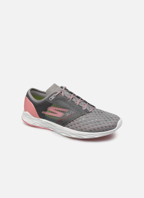 Chaussures de sport Skechers Go Meb Speed 5 Gris vue détail/paire