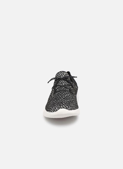 Baskets Skechers You Reveal Noir vue portées chaussures