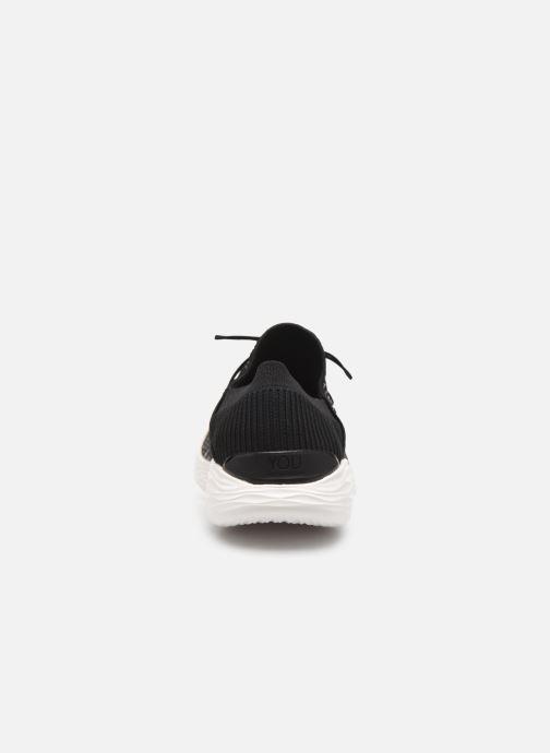 Baskets Skechers You Reveal Noir vue droite