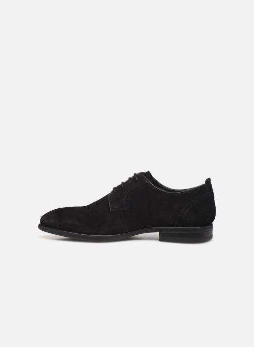 Lace-up shoes I Love Shoes PROSPER LEATHER Black front view