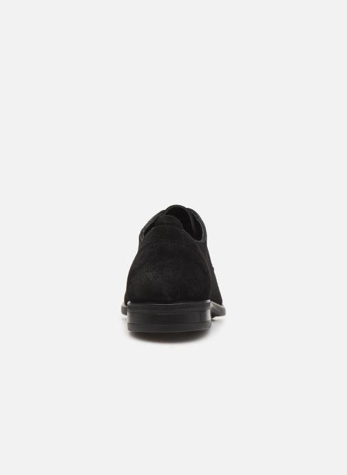 Zapatos con cordones I Love Shoes PROSPER LEATHER Negro vista lateral derecha