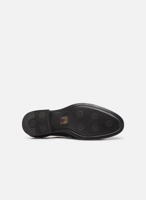 Schnürschuhe I Love Shoes PROSPER LEATHER schwarz ansicht von oben