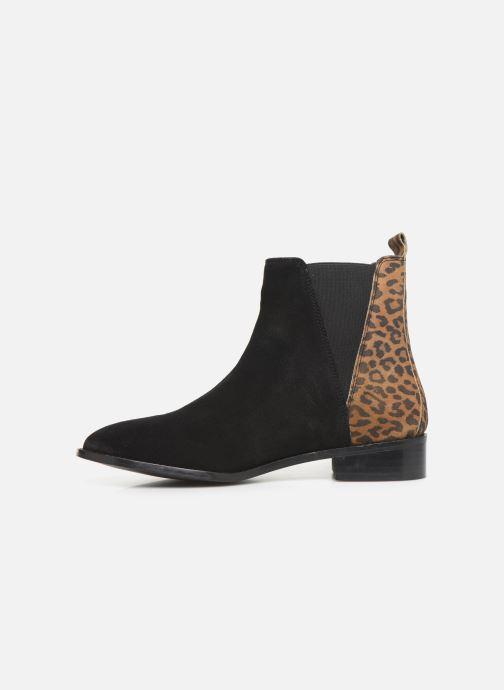 Ankelstøvler I Love Shoes PRISCIL LEATHER Sort se forfra