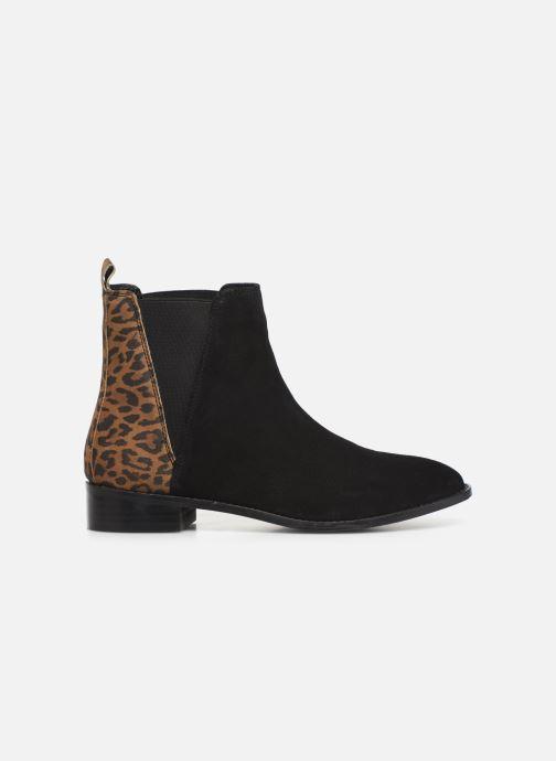 Ankelstøvler I Love Shoes PRISCIL LEATHER Sort se bagfra
