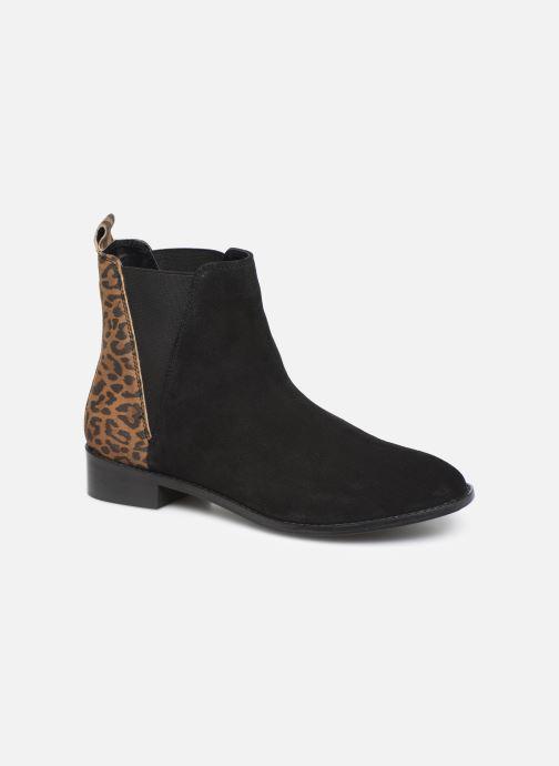 Ankelstøvler I Love Shoes PRISCIL LEATHER Sort detaljeret billede af skoene