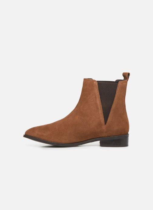 Stivaletti e tronchetti I Love Shoes PRISCIL LEATHER Marrone immagine frontale