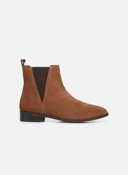Botines  I Love Shoes PRISCIL LEATHER Marrón vistra trasera