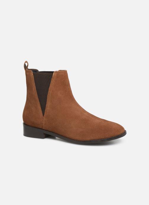 Bottines et boots I Love Shoes PRISCIL LEATHER Marron vue détail/paire